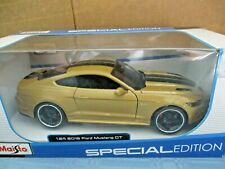 "MAISTO 2015 Ford Mustang GT.....1:24 DieCast. ""Classic Muscle"""