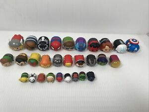 Lot of 29 Marvel Tsum Tsum Toy Figures, FAST SHIPPING!!!
