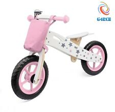 G4RCE KIDS WOODEN FIRST BALANCE TRAINING LEARNING MOTORBIKE SCOOTER CYCLE UK