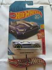 Custom 2015 Ford Mustang Mattel Hot Wheels Hw 1:64 Diecast Car Gt Race 302
