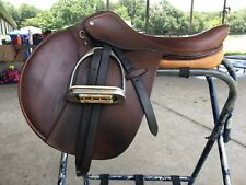 Pessoa saddle 17, good condition, jumping saddle