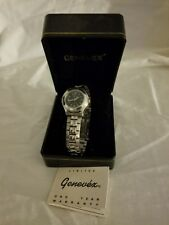 Geneve classic Quartz Ladies Stainless Steel Watch