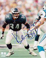 Philadelphia Eagles KEVIN TURNER #34 auto signed autographed 8x10 Alabama (D)