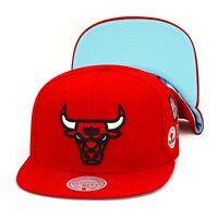 Mitchell & Ness Chicago Bulls Snapback Hat Cap Red/NBA Finals 1998/Blue Bottom