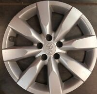"""ONE  2014 15 2016 TOYOTA COROLLA 16"""" WHEEL COVERS OEM HUBCAPS FACTORY 61172"""