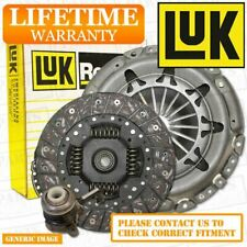 FOR AUDI A3 SPORTBACK 2.0 TDI CLUTCH KIT 3PC 140 09/04- BKD TO FIT LUK FLYWHEEL