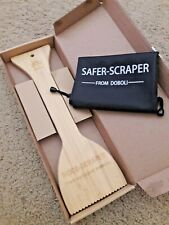 ♨� DoBoli Safer Scraper Ecological Bamboo Wood Grill Cleaner New Barbecue Bbq