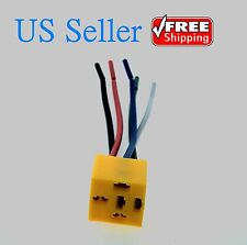 Brand New 5 Pin Wires Relay Socket Harness Connector DC 12V for Car Auto