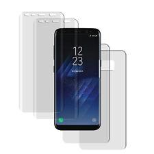4 x Samsung Galaxy S8+ Plus 3D Curved Komplett TPU Schutzfolie 2x VORN + 2x RÜCK