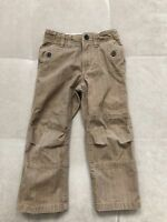Baby Boy Gap Beige Brown Pants Size 4 Toddler Thick Cotton