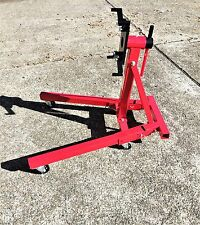 1 Ton Engine Stand. Fold away legs for easy workshop storage.