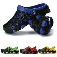 Mens Water Shoes Outdoor Beach Swim Sandals Hole Casual Sneakers Slip On Slides