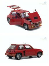 Solido S1801302 - Renault 5 Turbo 1981, Modelo en Miniatura Escala 1:18 - Rojo