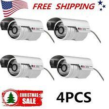 4Hd Cctv 1200Tvl Surveillance Security Camera Waterproof Outdoor Ir Night Vision