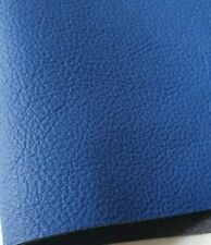 Large Size Vibrant BLUE  high quality ITALY GENUINE LEATHER *OFF CUT * SAMPLE