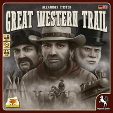 Great Western Trail Board Game Alexander Pfister Pegasus 54590g
