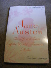 Brief Guide To Jane Austen by Charles Jennings PB book biography