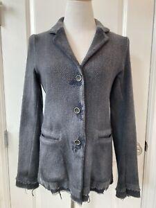 Avant Toi Knit Destroyed Wool Jacket *Small* $1085 Santa Fe Dry Goods