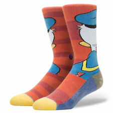 Stance Donald Duck Disney Character Socks 545 M545D16DON-RED-L Large (9-12) NWT