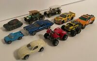 Lot of 10 Vintage Toy Cars Matchbox Hot Wheels Etc Collectibles Collection
