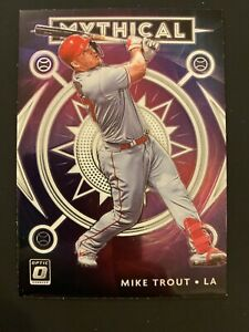 Mike Trout 2020 Donruss Optic Baseball Mythical Los Angeles Angels No. M-4