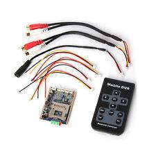 Mini SD DVR PCB Board Up D1 30fps Support 32GB Digital Video/Audio Recorder