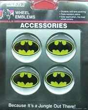 BATMAN BATMOBILE MAG CHROME WHEEL RIMS CENTRE EMBLEM DECALS STICKERS HOLDEN FORD