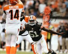 BARKEVIOUS MINGO CLEVELAND BROWNS SIGNED 16x20 (16-4) (OSG COA)