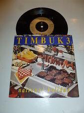 """TIMBUK 3 - National Holiday - 1989 UK 2-Track UK 7"""" vinyl single"""