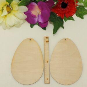 Osterei zum Selbst gestalten, Selber malen, Holz Ostereier 11cm Kreativ Set Deko