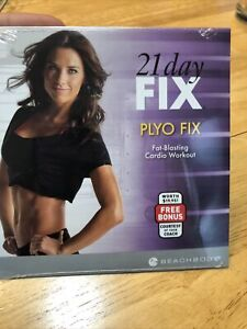 21 Day Fix Plyo Fix Autumn Calabrese Fat Blasting Cardio Workout DVD New Sealed