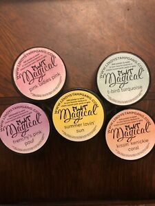 Lindy's Magical Dye Based Pigments Flat Lot Of 5