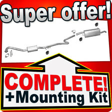 Ford Fusion 1.6 TDCi 12.2005-04.2006 Silencer Exhaust System L15