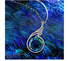 Kate Lynn Nirvana de Phoenix Collar Princesa Drop & Dangle Cristales de Swarovsk