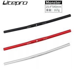 Litepro Ultra-Light Monster 25.4mm Alloy Handlebars 540mm for Brompton -UK stock