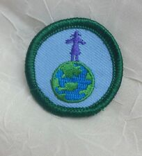 Retired Girl Scout 2001-11 Junior HIGH ON LIFE BADGE Say No Smoking/Drugs Patch