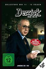 5 DVDs * DERRICK - COLLECTOR'S  BOX 14 | HORST TAPPERT - FRITZ WEPPER  # NEU OVP