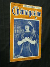 SEPT 23, 1921 FRENCH CINEMAGAZINE Uncut Complete 29 pgs