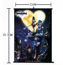 "Hot Japan Anime Kingdom Hearts II Art Home Decor Poster Wall Scroll 8""x12"" 02"