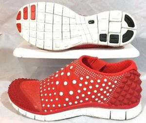 Nike Free Orbit II SP Mens 12 Nikelab Polka Dot Spike Pack Red White $200 C155
