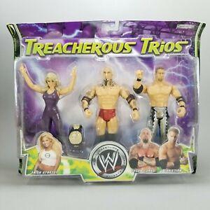 NIP 2005 Jakks WWE Treacherous Trios: Trish Stratus, Tyson Tomko, & Christian