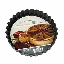 13cm Loose Base Flan Tin Non Stick Fluted Tart Quiche Pie Oven Baking Tray Dish