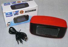 CH383 BT Solar Lautsprecher FM Scan Radio Bluetooth 3.0 TF Card USB 30W 4000mA R