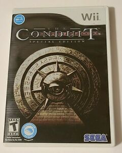 The Conduit Special Edition (Wii ,2008) With Art Book
