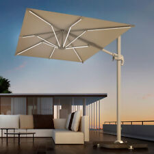 Ombrellone 2x3 decentrato palo laterale in alluminio x arredo esterno e giardino
