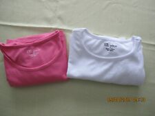 Ladies The TOG Shop Short Sleeve Tops Size  Medium (lot of 2)