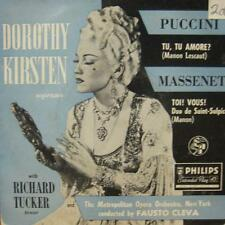 "Puccini/Massenet(7"" Vinyl Green)Tu Tu Amore?, Toi! Vous!-Philips-NBE 11051-UK-VG"