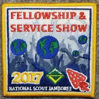 "2017 National Scout Jambree OA ""Fellowship & Service Show"" - Pocket Patch"