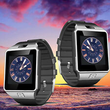 US DZ09 Smart Bluetooth Watch Sports Phone Mate SIM Card TF for Samsung iPhone