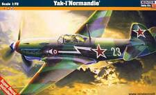 Mc-Yakovlev yak-1m Normandía Soviet WWII Fighter cazador modelo-kit 1:72 Kit
